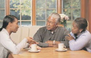 If you are living with your parents it is important to try to talk to them to share your problems and involve them in your struggle