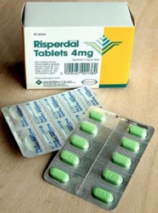 Modern atypical antipsychotic medicines for schizophrenia like risperidone are the mainstay of treatment for paranoia. (Image: Wikimedia Commons)