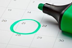 Try to set aside a regular time each week for dealing with your debts. (Image:  Picsfive on Shutterstock)