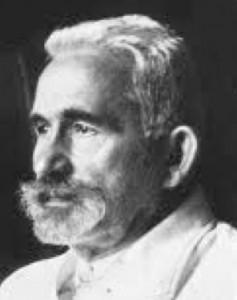 Dr Emil Kraepelin who first described schizophrenia in 1896.
