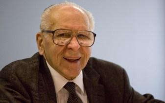 Dr Thomas Szasz, the US psychoanalyst who proposed that schizophrenia doesn't exist.