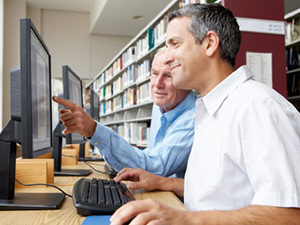 Your local reference library is a terrific source of information for job searching.
