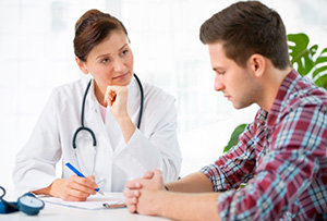 People with schizophrenia tend to suffer more form physical conditions such as cancer partly because they are often reluctant to approach their doctor.