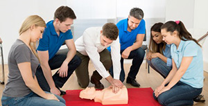 A first aid at work course like those run by the Red Cross and St John's Ambulance will be valued by most employers.