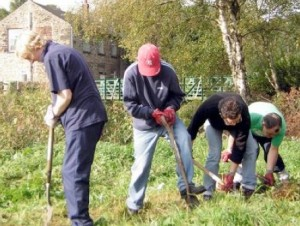 As you start to come out of the psychotic haze group activities like the TCV's Green Gym can help.