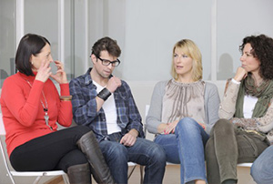 For people living with schizophrenia support groups can provide useful help in learning how to cope with voices.