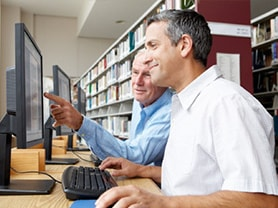 Your local reference library is a great source of information about jobsearching.