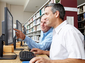 Get to know your local library where they can help with advice on healthy diets and exercise.