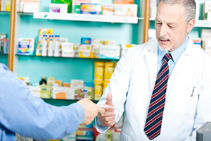 Most of the large chemists chains have repeat prescription services that save you having to remember when your meds are due.