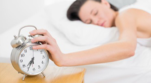 Try not to oversleep and use an alarm clock.