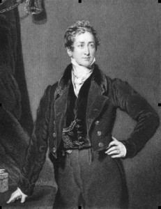 Sir Robert Peel, British Prime Minister: an attempt on his life in 1843 gave us rules on insanity in the criminal courts.