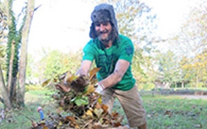 Conservation work such as TCV's Green Gym scheme can be interesting and rewarding. It will also help you to relax and sleep better.
