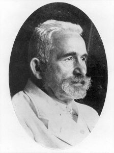 Emil Kraepelin, the psychiatrist who first described the condition we now call schizophrenia.