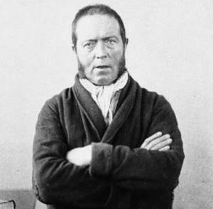 Portrait of Daniel McNaghten in his later years.