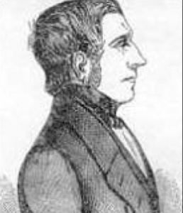 Portrait of Daniel McNaghten at his trial.
